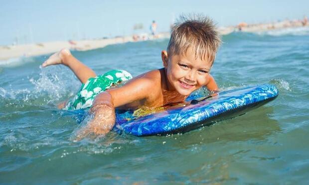 Deniz suyu çocuklar için oldukça faydalı!
