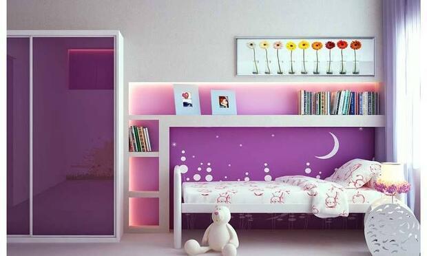 Kız çocuk odası için dekorasyon önerileri