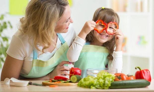 Çocuğunuzla birlikte mutfağa girin!