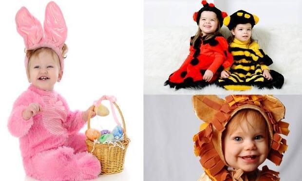 En komik kostümlü çocuk Slava's Snowshow'a gidiyor!