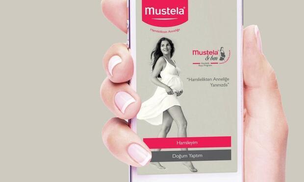 Mustela'dan hamilelik koçu mobil uygulaması