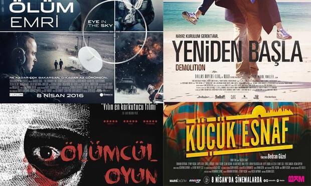 8 Nisan - Haftanın vizyona giren filmleri