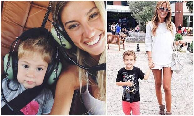 Ünlü anneler ve çocuklarının keyifli görüntüleri!
