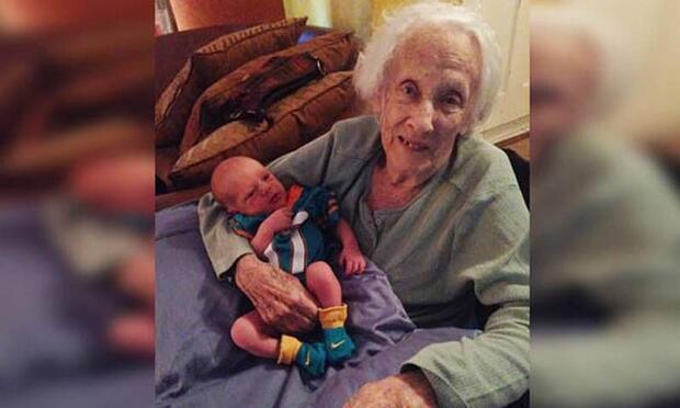 '101 yaşında anne oldu' asparagası