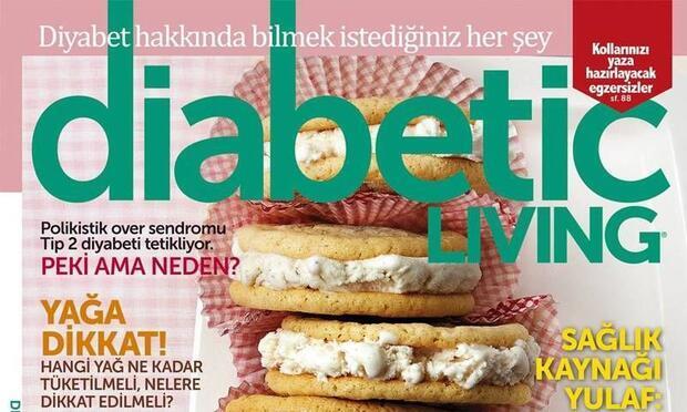 Diyabetle yaşama dair her şey bu dergide…
