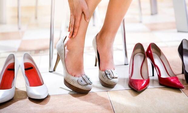 Topuğunuzu kavramayan ayakkabıyı almayın