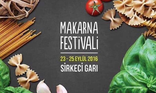 """Tarihi Sirkeci Garı'nda """"Makarna Festivali"""" başlıyor"""
