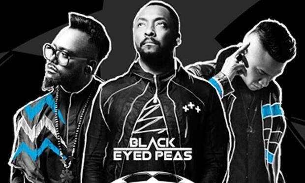 UEFA şampiyonlar liginde Black Eyes Peas sürprizi