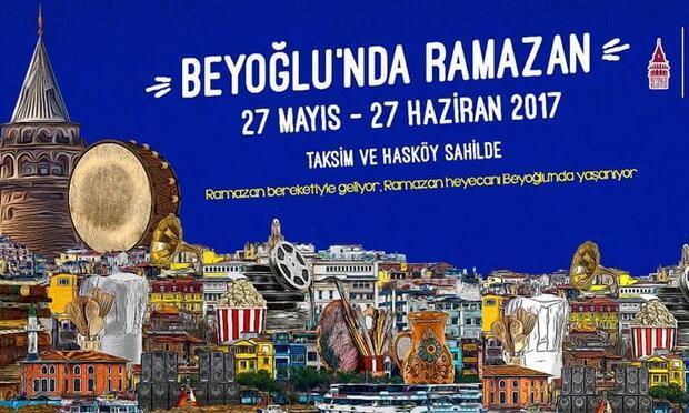 Beyoğlu'nda Ramazan bu yıl da dolu dolu geçecek