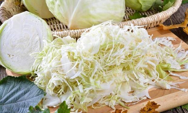 Beyaz lahana ile kilo vermek mümkün!