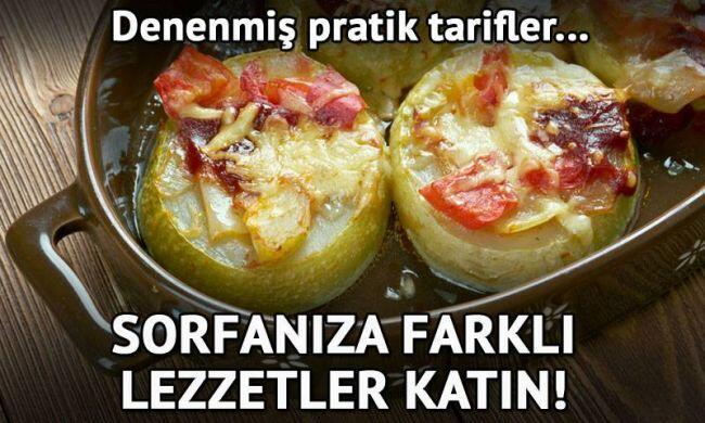 İftar sofralarının baş tacı 14 zeytinyağlı yemek