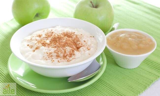 Bebekler için elmalı puding tarifi