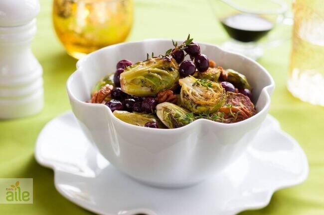 Zeytinyağlı brokoli ve bürüksel lahanası tarifi