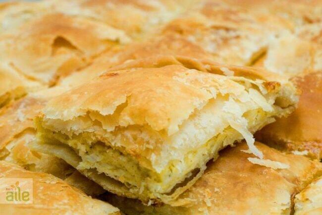 Patatesli dilim börek tarifi