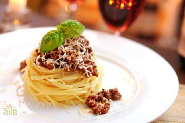 Spagetti bolognese tarifi