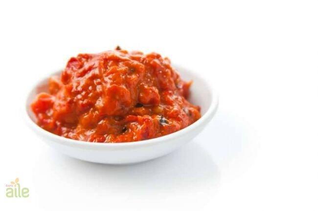 Ajvar-patlıcanlı biberli salça tarifi