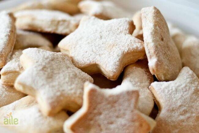 Beyaz kurabiye tarifi
