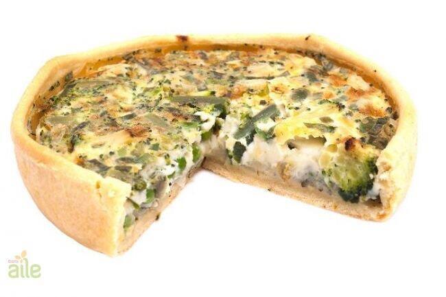 Beyaz peynirli kiş (çavdarlı) tarifi