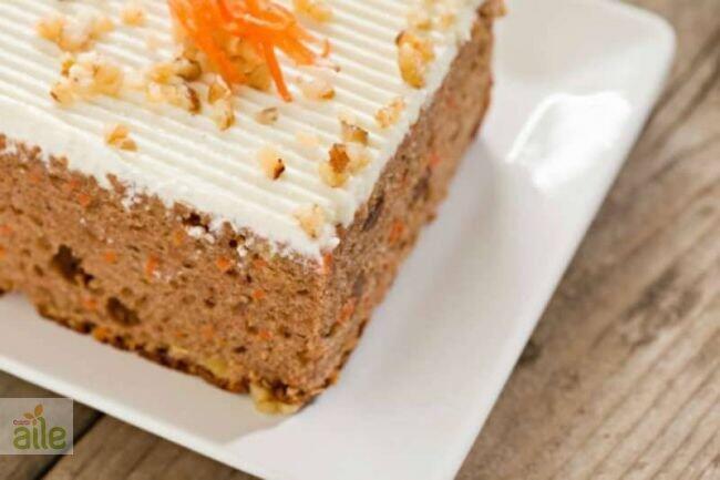 Cevizli ve havuçlu kek tarifi