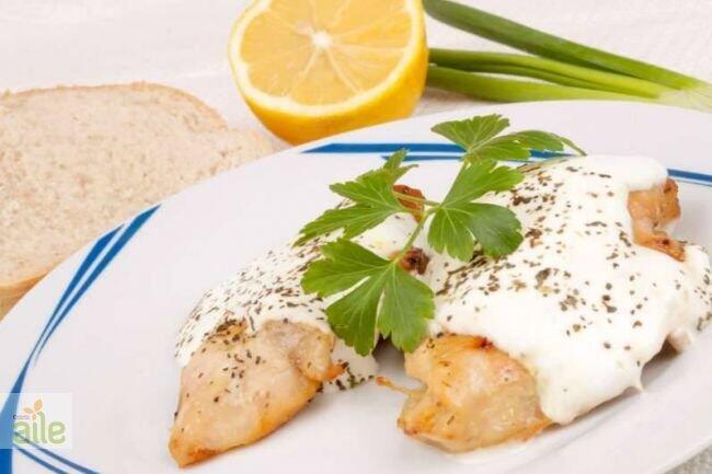 Kremalı fesleğenli tavuk sosu tarifi