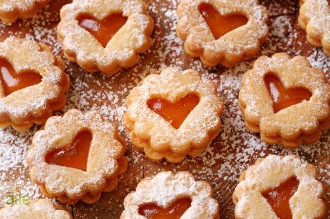 Marmelatlı düğme kurabiye tarifi