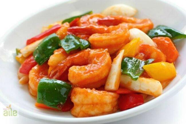Karides ve sebze tempura tarifi
