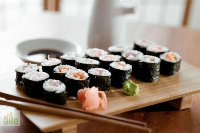 Ton balıklı sushi tarifi