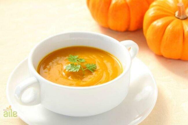 Kremalı bal kabaklı çorba tarifi