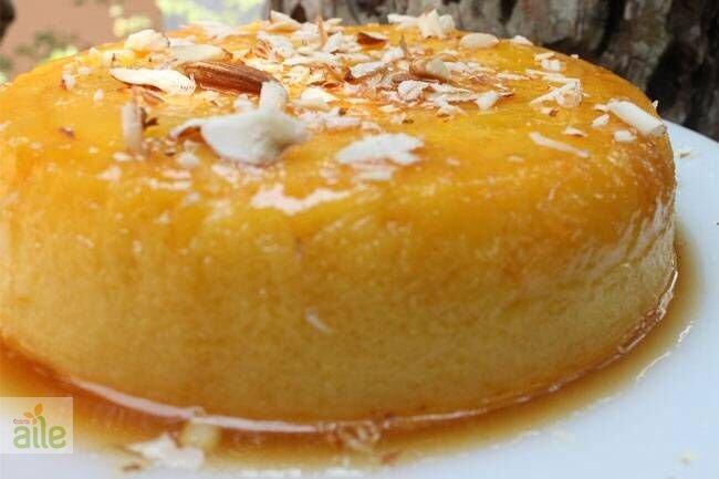 Fırında portakallı krema tarifi