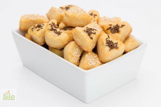 Tuzlu çörekotlu kurabiye tarifi