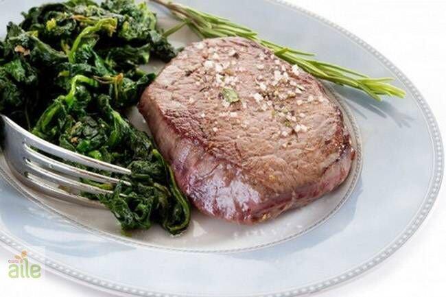 Ispanaklı et tarifi