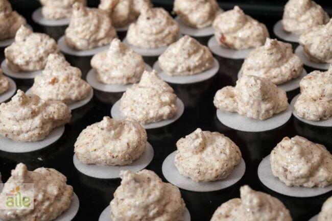 Köpük kurabiye tarifi