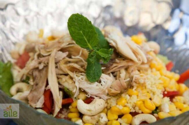 Diyet tavuklu salata tarifi