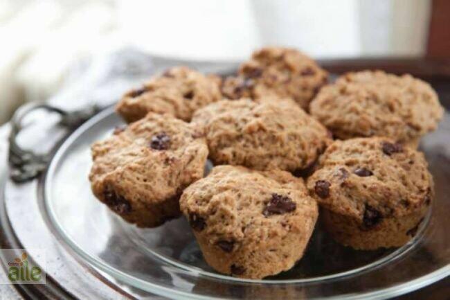 Çikolata parçalı muffin tarifi