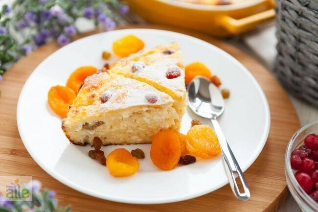 Kuru kayısılı pasta tarifi