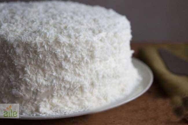 Hindistan cevizli kolay pasta tarifi