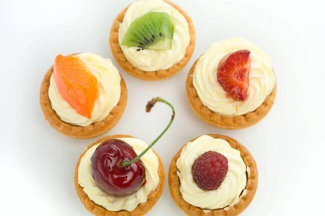 Meyveli mini tartoletler tarifi