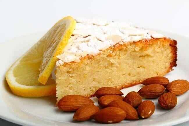 Limonlu bademli kek tarifi