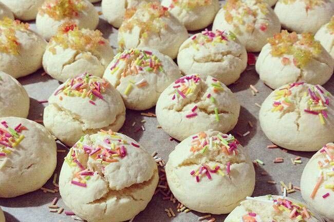 Mısır nişastalı kurabiye tarifi