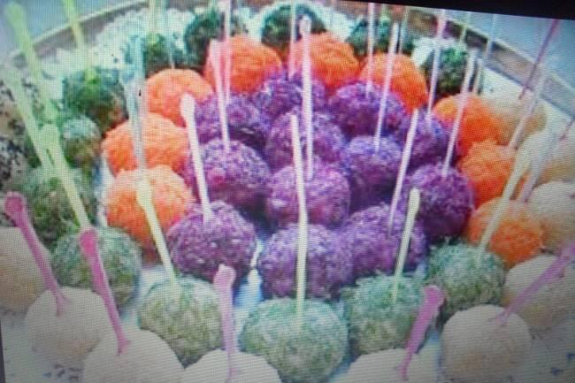 Renkli patatesli toplar tarifi