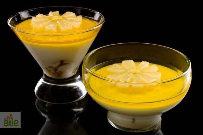 Ananaslı krema tarifi