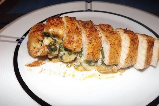Ispanaklı tavuk sarma tarifi