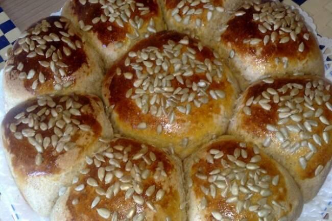 Çekirdekli çiçek ekmek tarifi