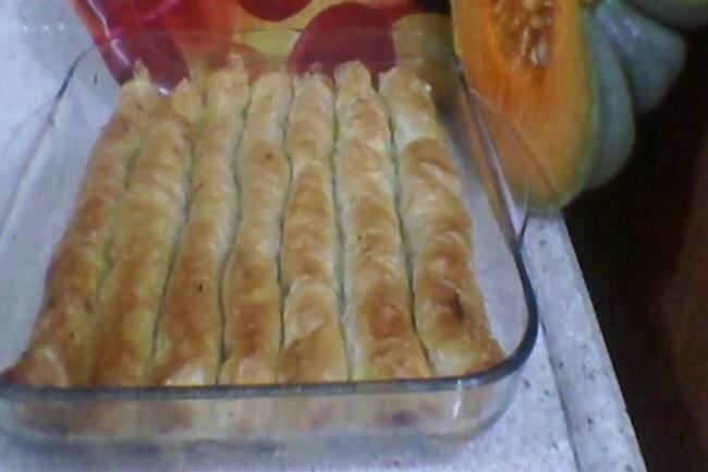 Cevizli tarçınlı balkabağı böreği tarifi