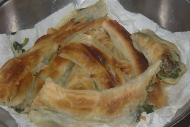 Ispanaklı açma börek tarifi