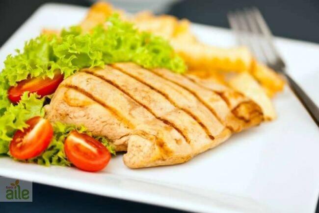 Fırında sarmısaklı tavuk tarifi