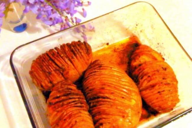 Fırında dilimlenmiş çıtır patates tarifi