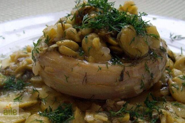 Fasulye enginar salatası tarifi