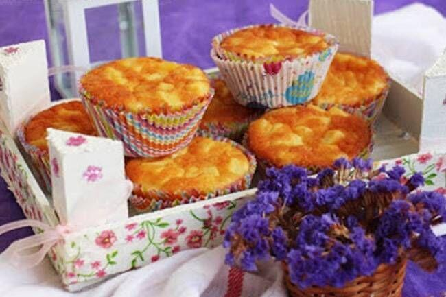 Peynirli patatesli tuzlu muffin tarifi