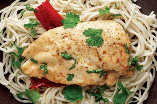 Kayısı soslu ızgara etli noodle tarifi